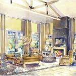 Architectural Illustration: Maria Morga and Michael Hampton