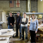 Art Woodstone Studio Building Furniture for Starbucks