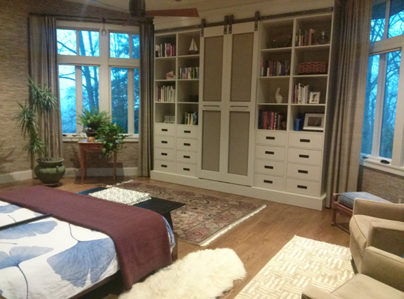 The bedroom. Glorious!