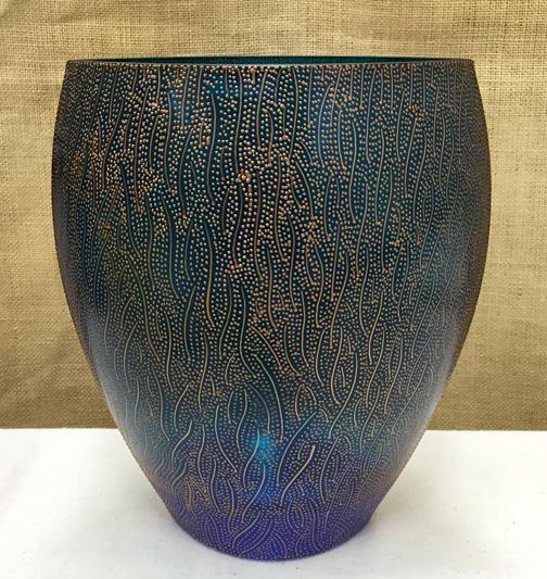 bluevase