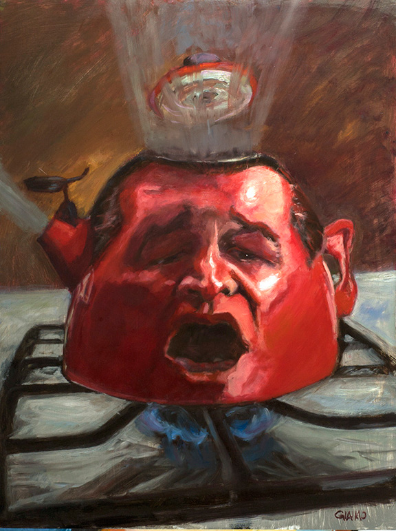 "My far and away favorite: ""Teapot Ted"" Cruz"