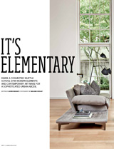 School Gym Goes Glam Pacific NW Luxe November/December 2015