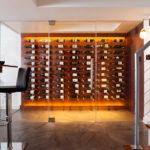 A Jewel-Box Wine Room in Falls Church
