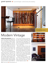 Jewel-Box Wine Room Arlington Magazine May/June 2016