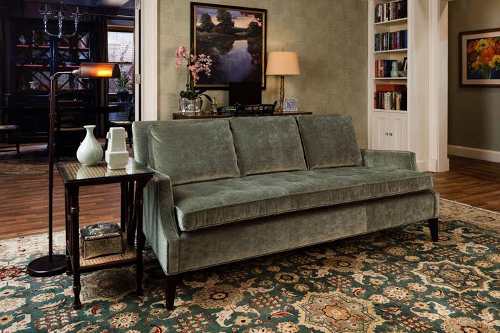 Alicia's sofa