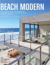 A Modern Edge in Malibu L.A. Luxe June-July 2016