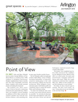 Backyard Retreat Arlington Magazine July/August 2016