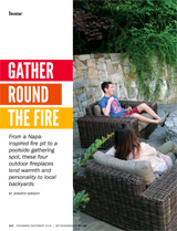 Outdoor Fireplaces Bethesda Magazine Nov-Dec 2016