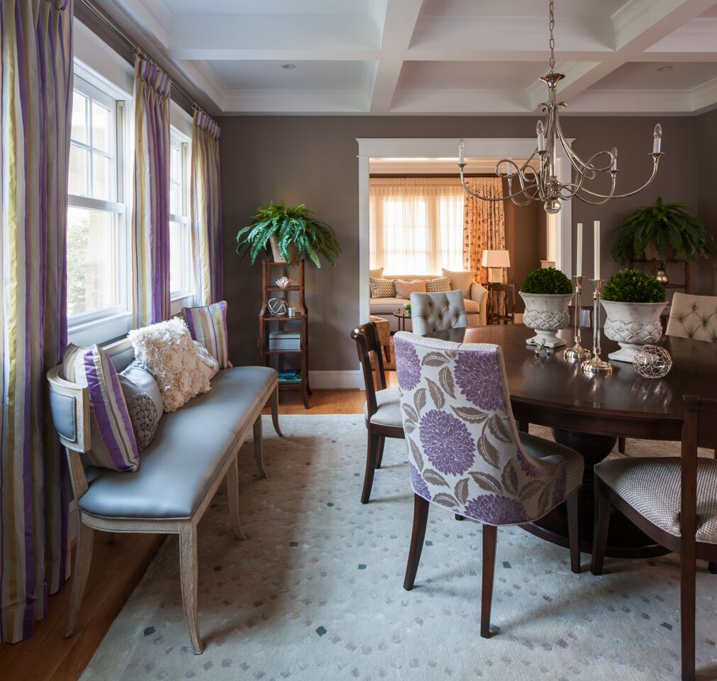 Client dining room after