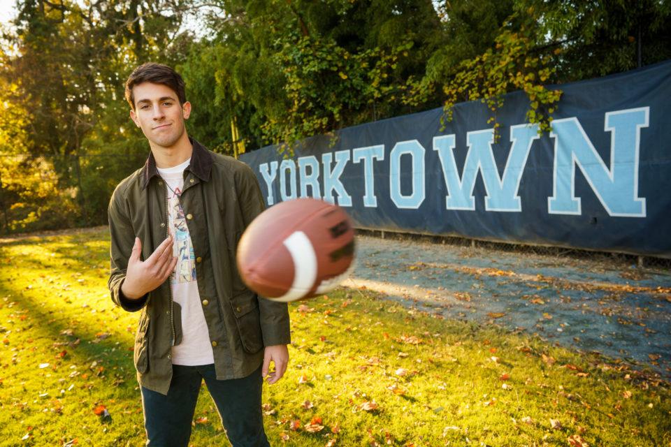 Matt Mendelsohn Photography: Henry Sergent, Yorktown High School Class of 2020