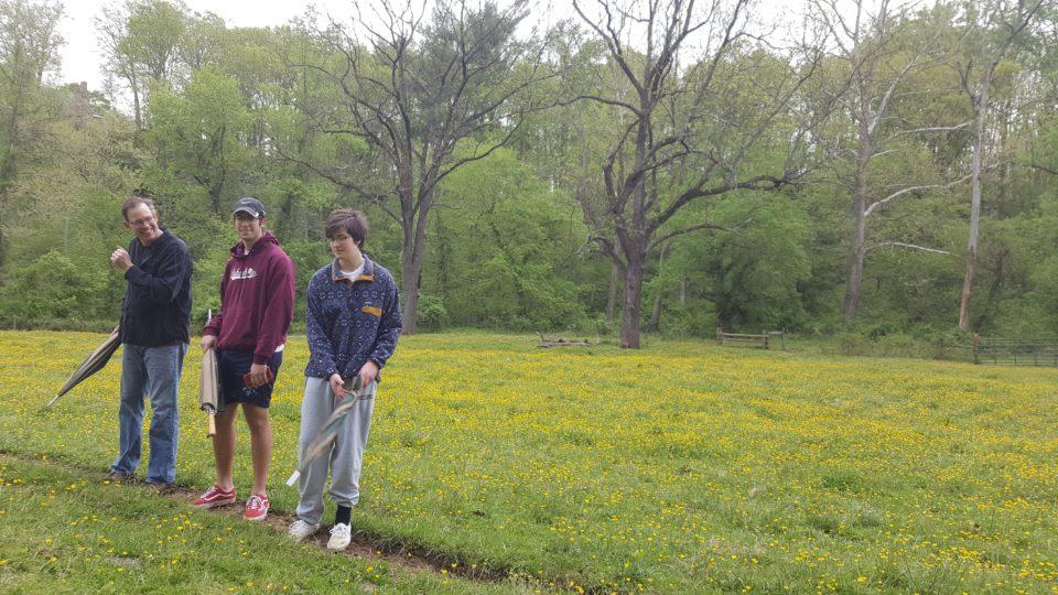 Walking trail at The Goodstone Inn, Middleburg, VA