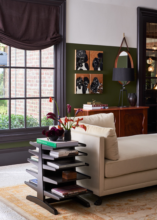 Family room by Viviano Viviano at the 2020 Kips Bay Dallas showhouse
