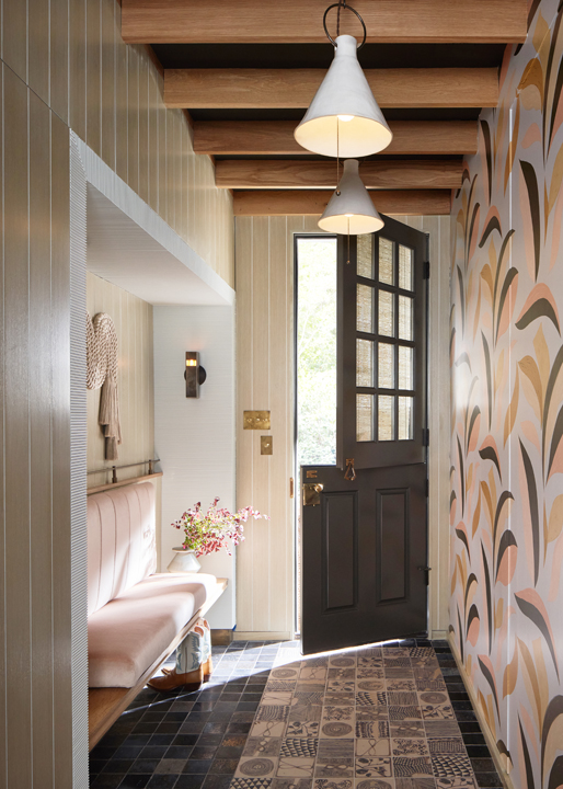 Mudroom by Erin Sander at the 2020 Kips Bay Dallas showhouse