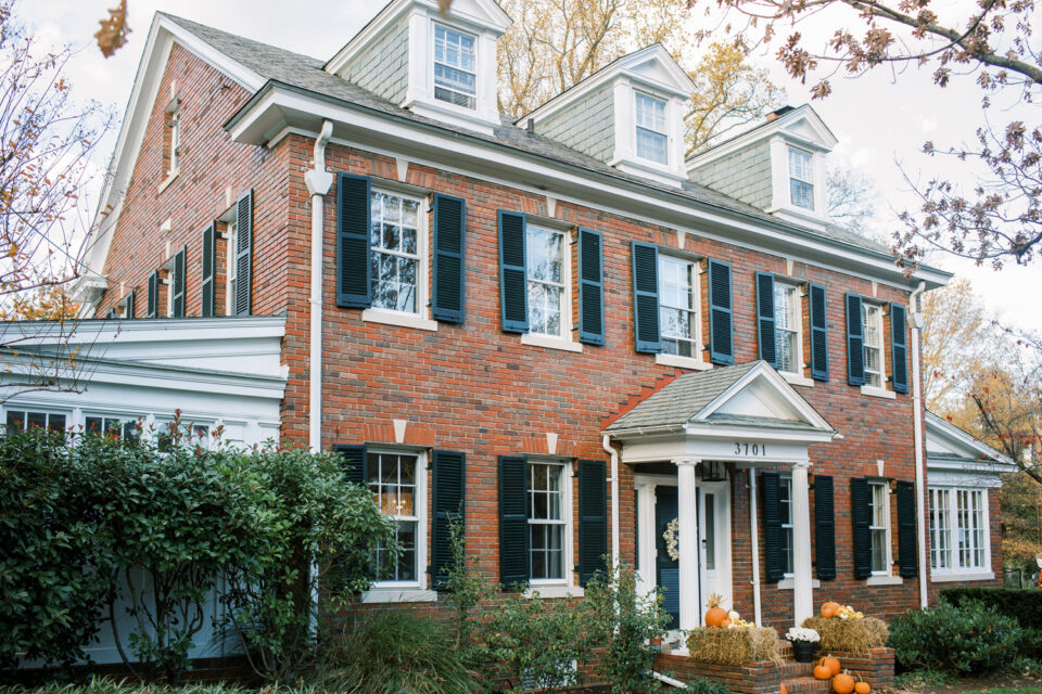 Colonial-Revival home in Chevy Chase DC