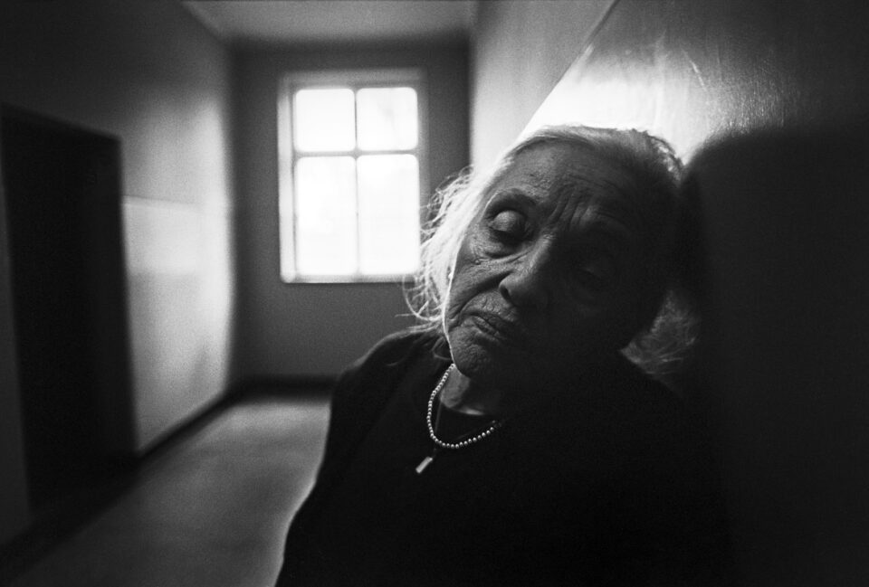 Photograph by Max Hirshfeld | Auschwitz-Birkenau Block 10 | Sweet Noise: Love in Wartime