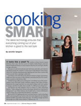 Cooking Smart article in Bethesda Magazine