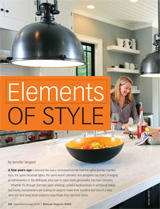 Bethesda Mag, Sep/Oct 2014 Kitchen Design Trends