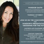 Coming to DC: Windsor Smith for Century Furniture