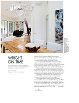 Mid-century Modernized DC Magazine October 2014