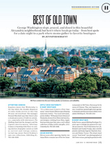 What's Hot in Old Town Alexandria: Washingtonian, June 2014