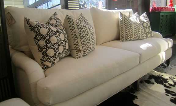 This Temo-2 Cushion sofa, which sells for $3,240 with the 20 percent discount, gets an extra 10 off.