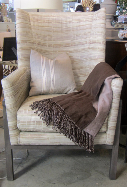 The Turk chair, $2,018 at the 20 percent discount. Take 10 percent off of that this week.