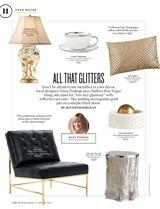 Glittering Home Finds Washingtonian January, 2015