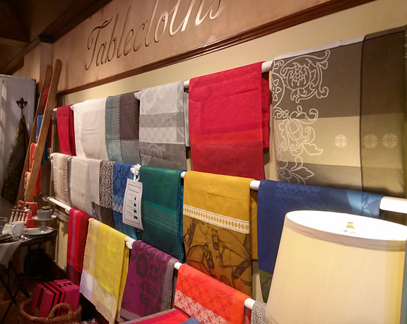 If you love French table linens, this is the place to go.
