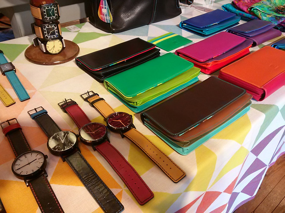 Watches and wallets like candy!