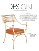 Niermann Weeks's Cielo Chair, DC Magazine January 2014
