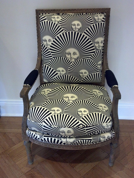 The Fornasetti chair