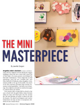 Decorating with kids' art Bethesda Magazine Jan/Feb 2015