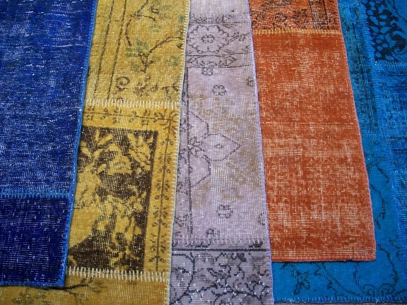 More overdyed rugs...