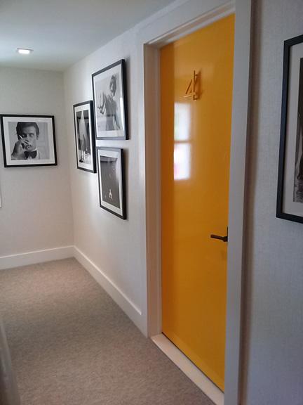 Second-floor hallway